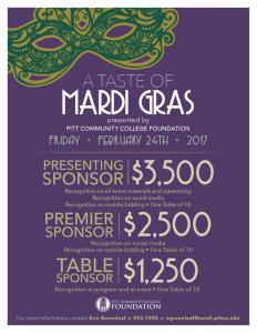 A Taste of Mardi Gras