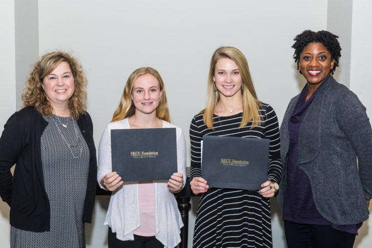 2017 SECU Foundation Scholarship presentation