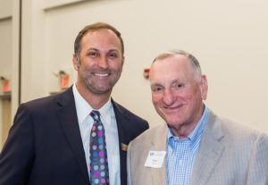 Photo of two PCC Foundation Donors at Distinguished Donor Reception