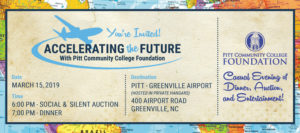 2019 Accelerating the Future Scholarship Auction announcement.