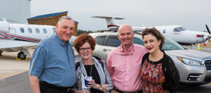Photo of guests attending the 2019 PCC Foundation Accelerating the Future fundraiser at Pitt-Greenville Airport.