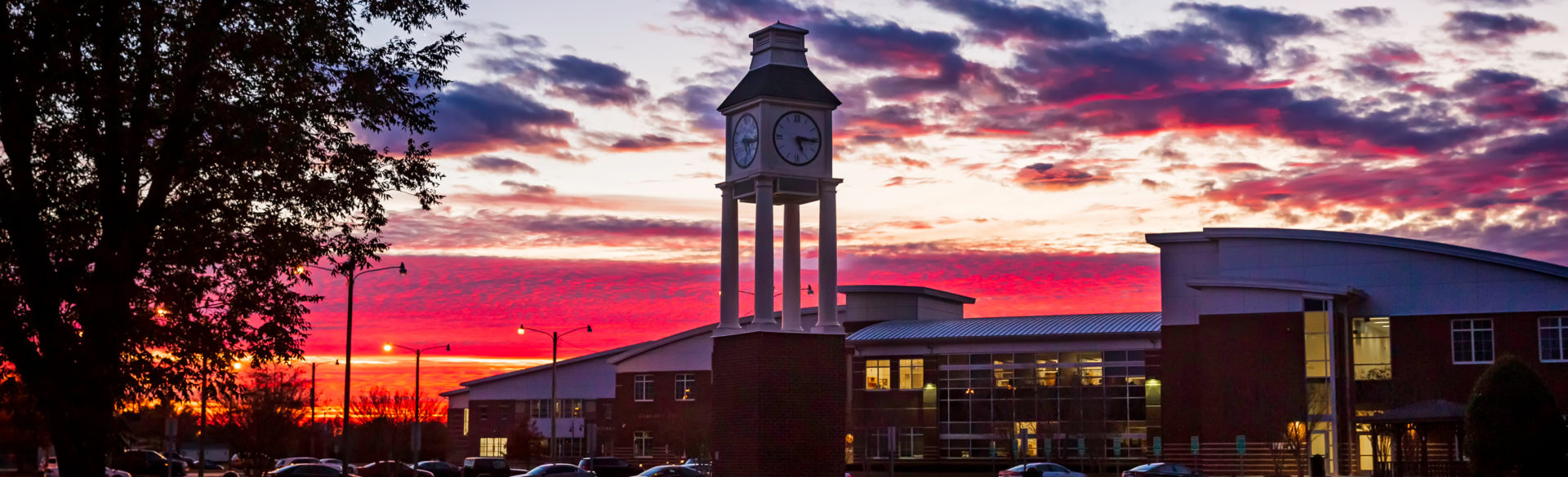 The 35-foot-tall Ed and Joan Warren Clock Tower was purchased by the PCC Foundation through funding the organization received from the Warren Estate.