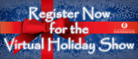 Register Now for the 2020 Virtual Holiday Show