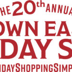 2021 Down East Holiday Show Logo in Red.